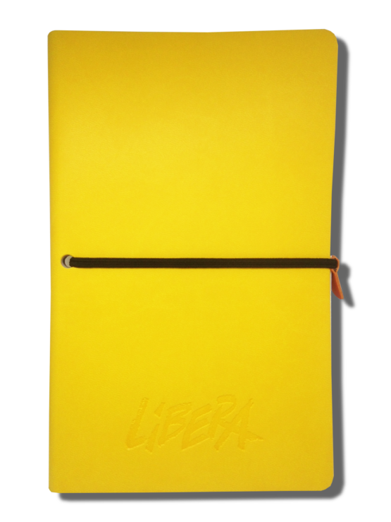 Notebook giallo
