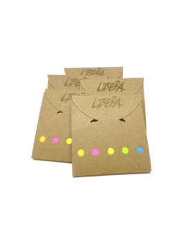 Post-it di Libera, cinque campioni